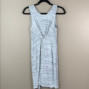 Anthropologie Amadi gray sleeveless dress sm